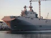 French naval ship visits Singapore