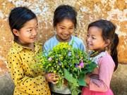 Choan Then village – where smiles of Ha Nhi ethnic children shine