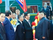 DPRK Chairman arrives in Lang Son