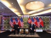 DPRK, US leaders discuss denuclearisation