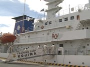 Japan coast guard ship arrives in Da Nang