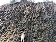 Rock formation found in Phu Yen province