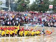 Ngo boat racing in the Mekong Delta kicks off