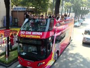 HCM City: Open-air double-decker city tour rolls out