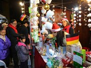 German Christmas market in Hanoi