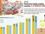 Vietnam's trade surplus reaches 7.2 billion USD
