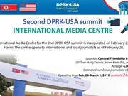 DPRK-USA Summit International Media Centre