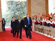 Vietnamese PM meets US President