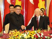 Vietnamese leader hosts banquet in honour of DPRK Chairman
