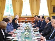 Vietnamese, Norwegian PMs hold talks