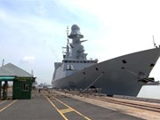 French naval anti-air frigate Forbin visits HCM City