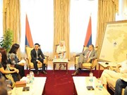 Bosnia-Herzegovina President meets billionaire Mai Vu Minh