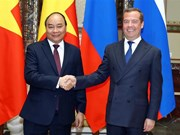 Vietnamese, Russian PMs hold talks