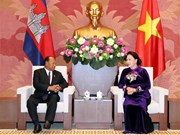 Cambodian top legislator begins official visit to Vietnam