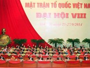 Vietnam Fatherland Front's national congresses