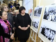 Exhibition on Vietnam-Russia friendship in Moscow
