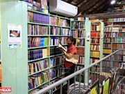 Oldest bookstore on Dinh Le Street in Hanoi