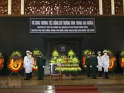 State-level funeral held for former Deputy PM Truong Vinh Trong