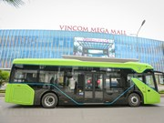 First VinGroup smart e-buses hit the streets