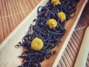 Enjoying chrysanthemum tea in Hanoi's autumn days