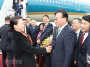 Legislative leader pays official visit to RoK