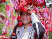 Red Dao ethnic wedding