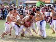 Ball scrambling festival