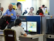 Highest security level deployed at Noi Bai int'l airport