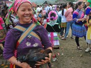 Hmong ethnic people's market