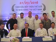 Gout de France culinary festival honours French cuisine