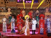Ao Dai Week honours Vietnamese traditional costume