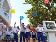 Little citizens on Truong Sa archipelago