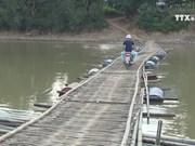 Mountainous residents call for upgrade to suspension bridges