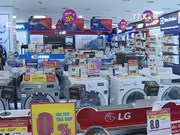 Electronic appliance market busy ahead of Tet
