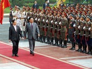 Photos of DPRK Premier Kim Yong-il's visit to Vietnam