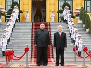 Photos of DPRK Chairman Kim Jong-un's visit to Vietnam