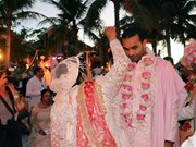 Indian billionaire couple hold wedding party in Phu Quoc