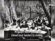 Teachers with mission during war
