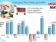Consumer Price Index up 0.49%