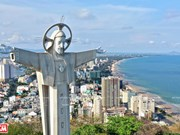 Towering statue of Jesus Christ in Vung Tau