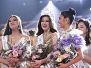 Nguyen Tran Khanh Van crowned Miss Universe Vietnam 2019