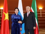 NA Chairwoman pays official visit to Russia