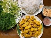 Hanoi signature dish: La Vong grilled fish