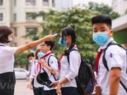 Hanoi students back to school after coronavirus closures