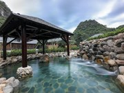 Japanese-style onsen in Quang Ninh province