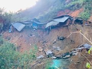 Quang Nam province sees one more landslide