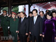 Ceremony marks 100th birth anniversary of late President Le Duc Anh
