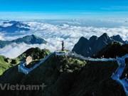 Sea of clouds on Vietnam's 'rooftop'