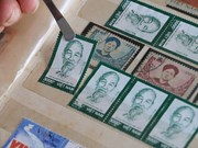 Stamp collections featuring President Ho Chi Minh