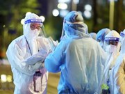 'White blouse' soldiers in COVID-19 pandemic fight